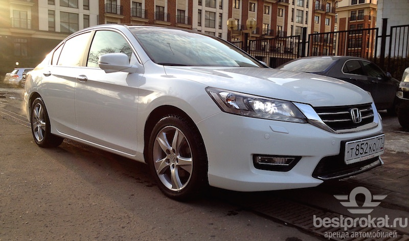 аренда Honda Accord IX в Москве