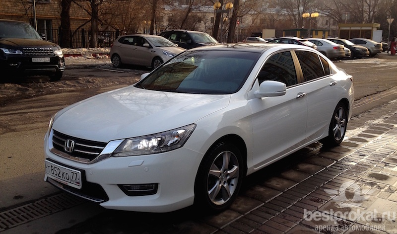 прокат Honda Accord