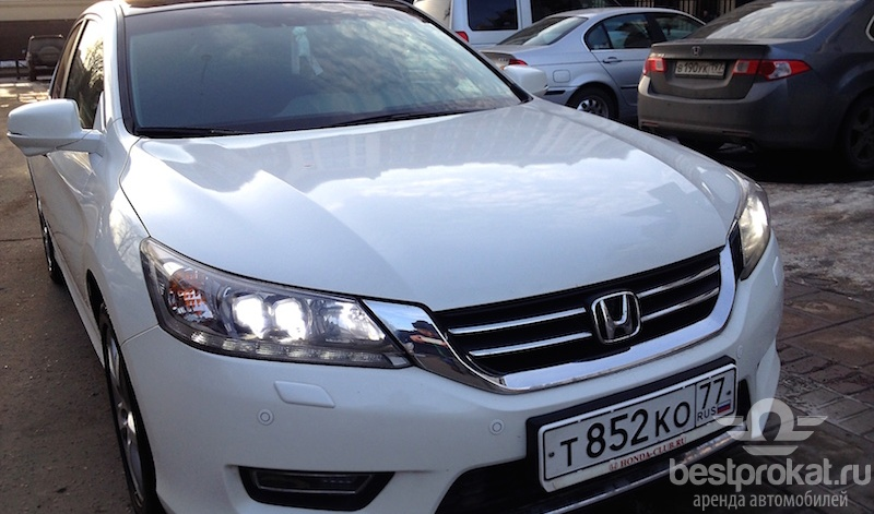 прокат Honda Accord в Москве